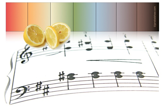 flavor notes and musical color