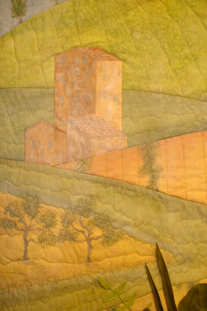 Modugno taspestry building detail