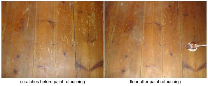 floor retouching