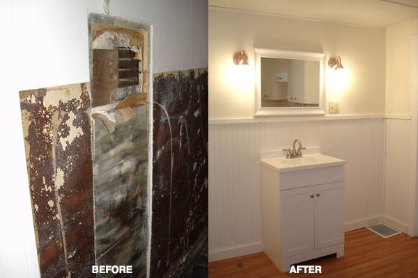 laundry sink wall B&A