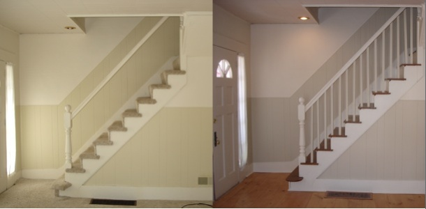 stairwell B&A