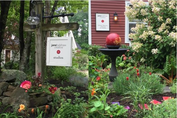 Entrance gardens; janebalshaw.com